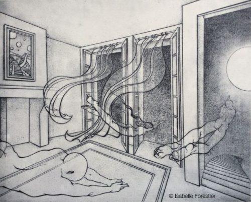 Dessin Representant La Mort des représentations symboliques de la mort imminente – isabelle